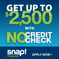 snap finance up to 2500 credit